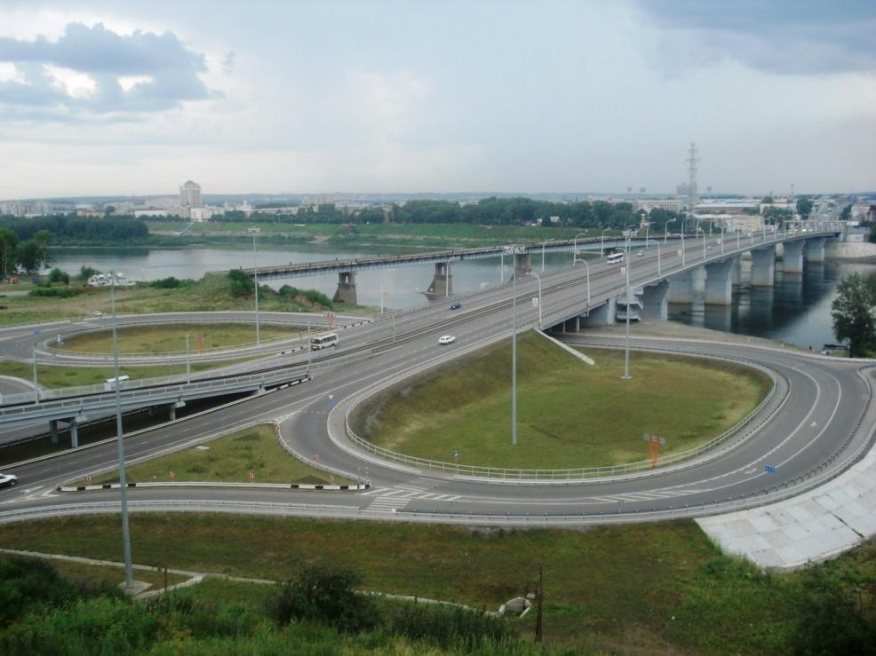 Новый мост через Томь в Кемерово